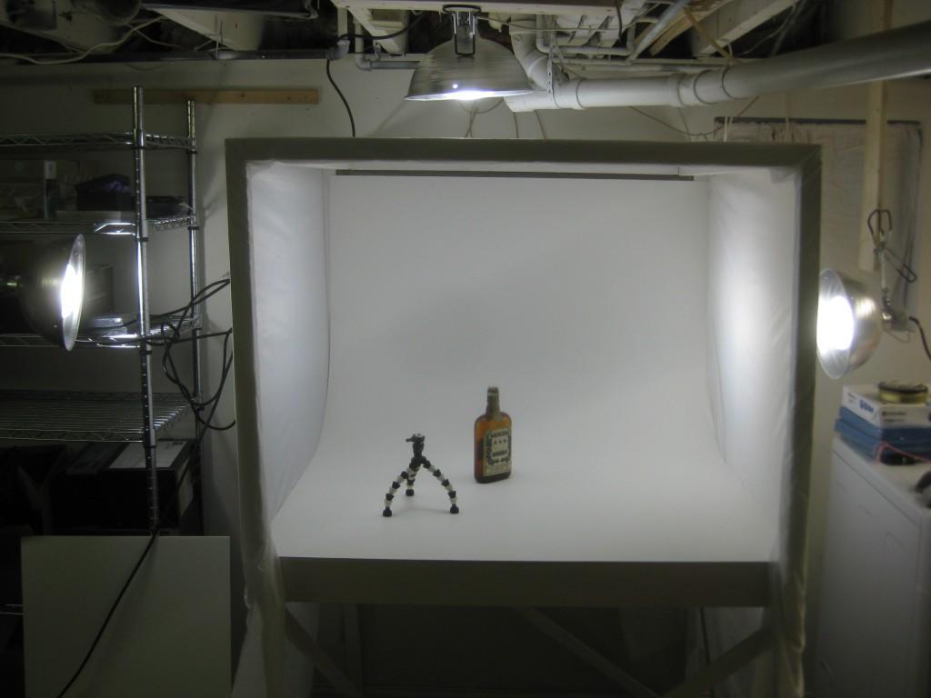 Diy Mini Photo Studio Nick Drinks