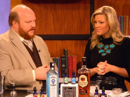 Nick Kosevich on Morning Blend - Nick Drinks Blog
