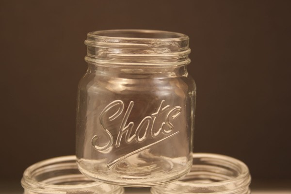 Mason Jar Shot Glass - Nick Drinks Blog
