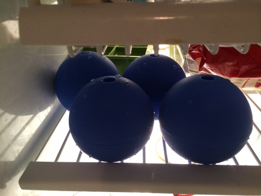 Ice Balls in the Fridge - Nick Brin