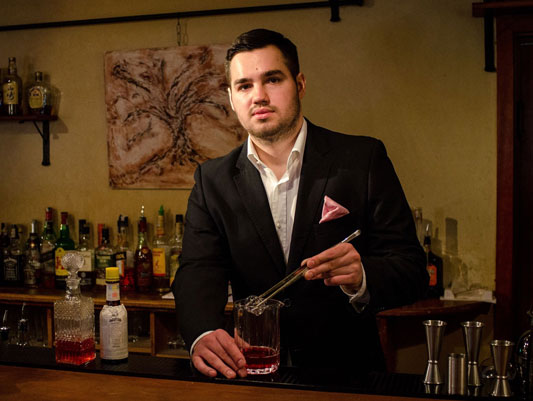 Featured International Bartender Mihai Fetcu of Romania via NickDrinks.com - Nick Britsky