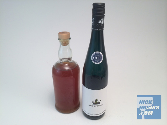 Make your own Sweet Vermouth - NickDrinks.com