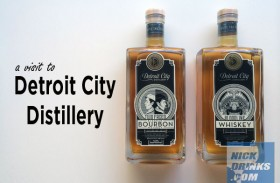 Visit to Detroit City Distillary