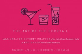 Art of the Cocktail Event – 4/30