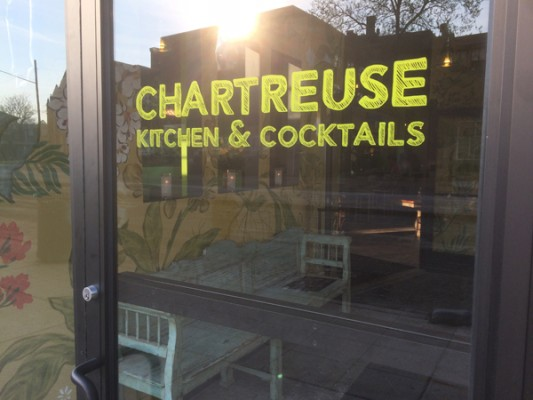 Chartreuse Kitchen and Cocktails Entry - Nick Drinks Blog