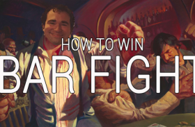 How to win Cafe 78's Bar Fight