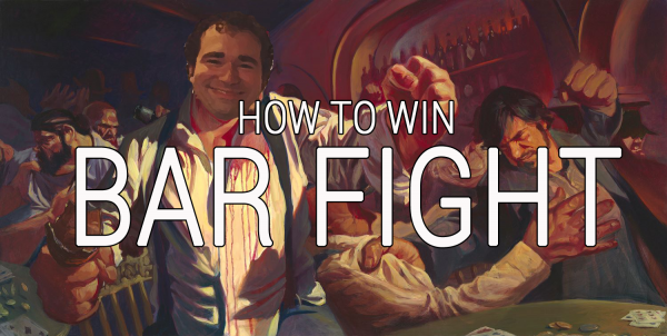 How to Win at Bar Fight - Nick Drinks Blog