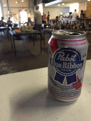 Pre-Game PBR for Bar Fight 5 - Nick Drinks Blog