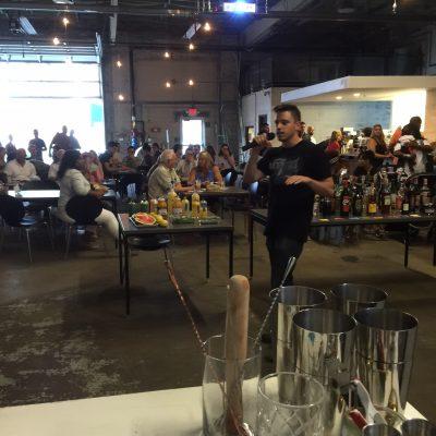 Chris explaining the rules for Bar Fight - Nick Drinks Blog