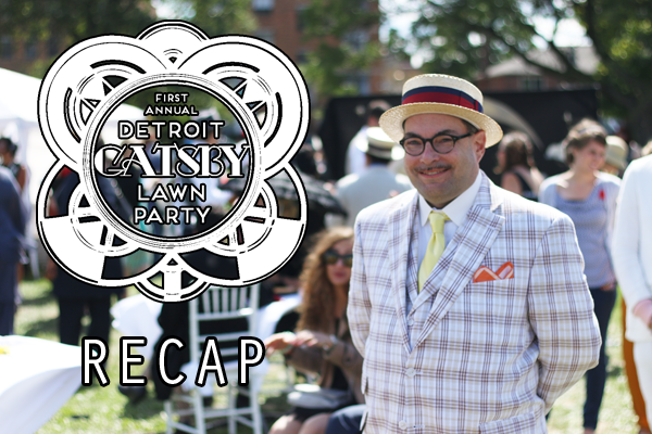 Detroit Gatsby Lawn Party 2015 Recap - Nick Drinks Blog