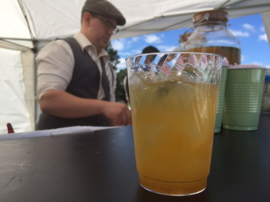 Rumble Seat Cocktail @ The Detroit Gatsby Lawn Party 2015 - Nick Drinks Blog