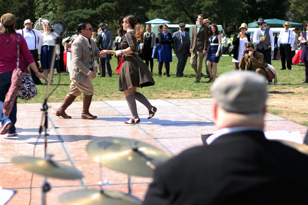 Dancing @ The Detroit Gatsby Lawn Party 2015 - Nick Drinks Blog
