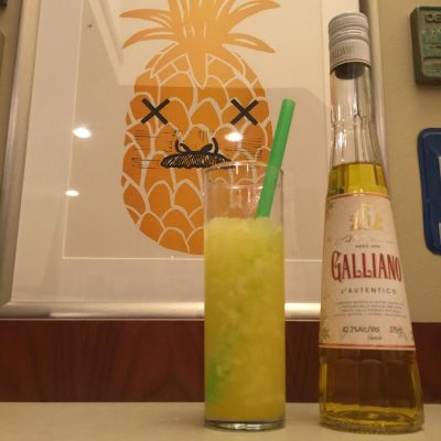 Harvey Wallbanger Cocktail - Nick Drinks Blog